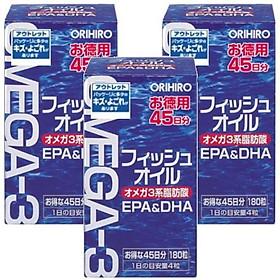 Thực Phẩm Chức Năng Dầu Cá Omega -3 Orihiro Nhật Bản