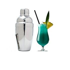 Bình Lắc Cocktail Shaker 750Ml Inox Dày Pha Chế Trà Sữa , Cocktail , Cafe