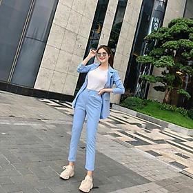 Sét vest + quần dài siêu yêu TRIPBLE T DRESS - Size M/L