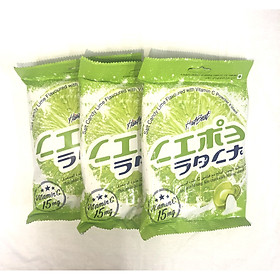 Combo 3 Gói Kẹo chanh muối bổ sung vitamin HartBeat 120g