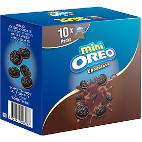 Bánh Oreo Mini Chocolate 204gr