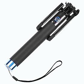 Gậy tự sướng Selfie Gậy chụp ảnh Dây Jack 3.5mm PKCB184 - Hàng Chính Hãng