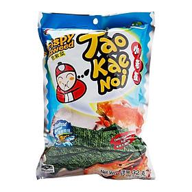 Bánh Snack Rong Biển Taokaenoi Vị Hải Sản (36g)