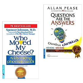 Combo Sách Marketing Bán Hàng: Ai Lấy Miếng Pho Mát Của Tôi + Câu Hỏi Là Câu Trả Lời (Bộ Sách Kinh Tế Bán Chạy Giúp Bạn Chinh Phục Khách Hàng Thành Công / Tặng Kèm Bookmark Happy Life)