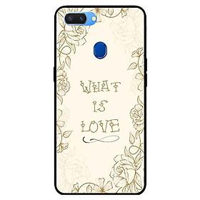 Ốp lưng in cho Realme 2 Mẫu What Is Love