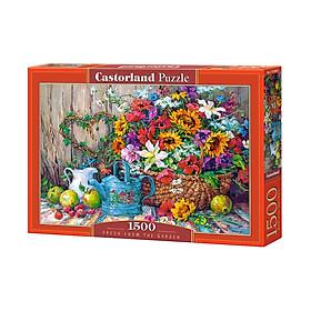 C151684 Đồ chơi ghép hình puzzle Fresh from garden 1500 mảnh Castorland