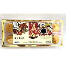 VIÊN HOÀN HÔNG SÂM HÀN QUỐC 10 VIÊN IMPERIAL FAMILY KOREAN RED GINSENG SOFT BALL CAKES