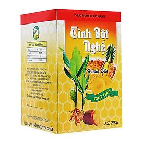 Thực phẩm chức năng Tinh bột nghệ cao cấp 200gr - Mật Ong Hoa Bốn Mùa