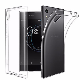 Ốp lưng silicon dẻo trong suốt loại A cao cấp cho Sony Xperia L1