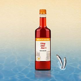 Nước mắm nhỉ Làng Chài Xưa nhãn vàng tiết kiệm chai nhựa cao cấp 500ml cốt nhỉ đặc biệt vị thanh dịu gu nước mắm nhĩ truyền thống sạch từ 100% cá cơm tươi