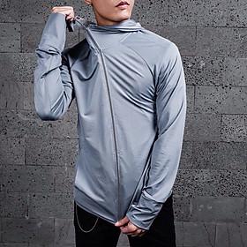 Áo chống nắng nam thông hơi áo khoác nam chống nắng chống tia UV thoáng mát màu nam tính