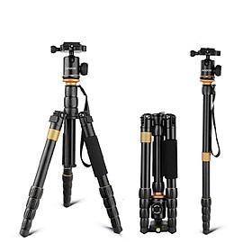 Chân Máy Ảnh Đa Năng Điều Chỉnh Gập Mở Andoer Cho Canon Nikon Sony Panasonic DSLR - Đen