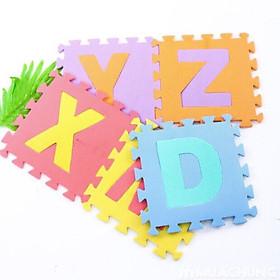 Set 26 Tấm Thảm Xốp Mix Nhiều Màu In Hình Chữ Cái Cho Bé Yêu Thỏa Sức Học Hỏi