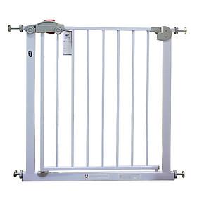Thanh chắn cửa, chắn cầu thang chính hãng Mastela D04 bảo vệ an toàn cho bé, Không cần khoan tường, có thể thanh mở rộng