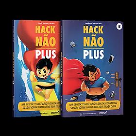 Hack Não Plus - Nạp Siêu Tốc 1550 Từ Vựng Và Collocations Trong 50 Ngày Với Âm Thanh Tương Tự Và Truyện Chêm (Tái Bản 2021)