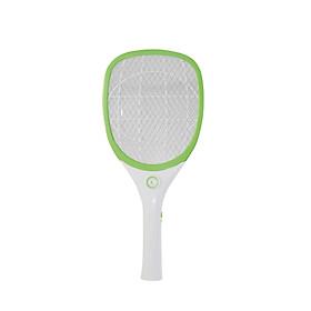 Vợt bắt muỗi điện tử cầm tay tích hợp đèn LED chiếu sáng Rạng Đông