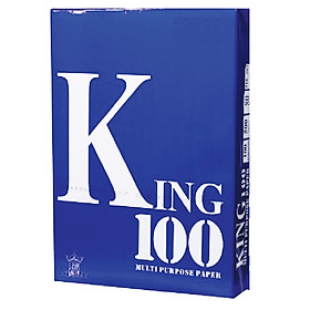 Giấy photo, giấy in King 100 - A4/A3/70gsm (500 tờ/ream)