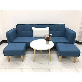Bộ ghế sofa giường sofa bed tay vịn phòng khách sopha sivali06 salon