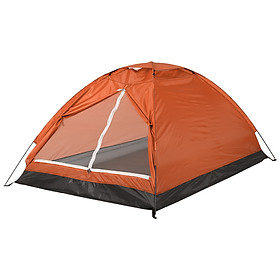 Camping Tent for 2 Person Single Layer Outdoor Portable Beach Tent