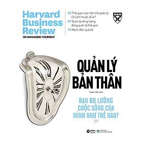 HBR On- Quản Lý Bản Thân (Harvard Business Review On Stratery)