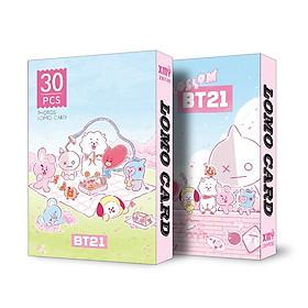 Lomo card BT21 BTS mới