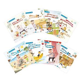 Hình ảnh Combo 8 Cuốn sách dễ thương dành cho bé: Bạn thân của tớ là... Bố