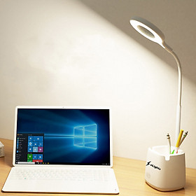 Đèn Bàn Học Đọc Sách, Làm Việc (Học Sinh, Sinh Viên, Văn Phòng) LED Chống Cận, Cảm Ứng Tích Điện Pin 2500mAh Elights BT-618