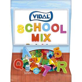 Kẹo Dẻo Hình Chữ Cái Và Số Vidal (Gói 100g)