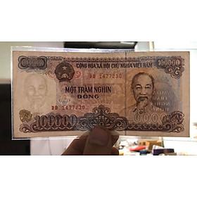 Tờ 100 ngàn đồng Việt Nam 1994, tiền xưa bao cấp sưu tầm