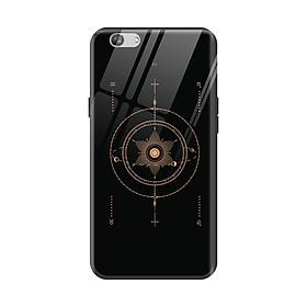 Ốp lưng kính cường lực hình thư pháp phong thủy trừu tượng dành cho điện thoại Oppo F11 Pro/ F11/ F9/ F1S/ a9 2020/ A7/ A5S/ A3S/ Realme C1/ Realme 2 - Hàng chính hãng
