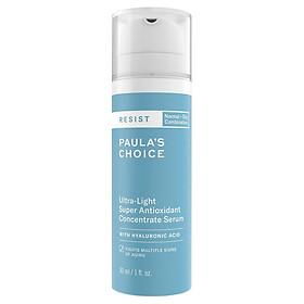 Tinh chất chống oxy hóa siêu nhẹ Resist Ultra light Super Antioxidant Concentrate serum 30 ml