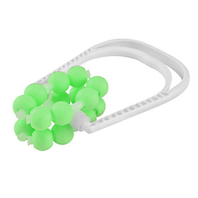 16 Roller Ball Leg Slim Massager Body Shapely Roller Yoga Fitness Ring Clamp Mucsle Relaxation Massage Stick-0