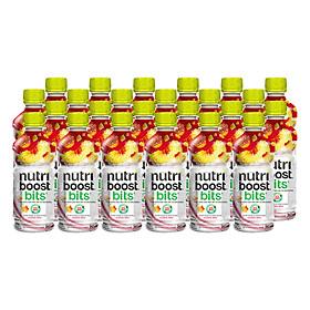 Lốc 24 Chai Sữa Nutriboost Hương Đào (297ml / Chai)