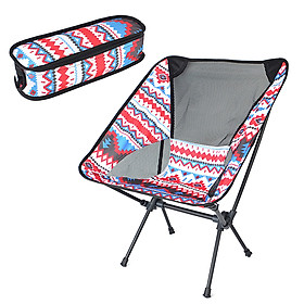 Outdoor Ultralight Portable Folding Chair with Carry Bag for Camping Backpacking Hiking Picnic Beach
