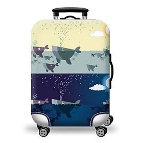Túi bọc bảo vệ vali -Áo vỏ bọc vali - Shark