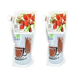 Combo 2 túi Siro chà là nhập khẩu - Ăn ngọt không lo tiểu đường - túi 1,3kg - thức uống tinh tinh túy từ thiên nhiên.