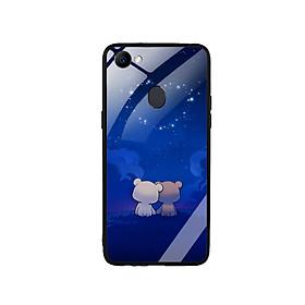 Ốp Lưng Kính Cường Lực cho điện thoại Oppo F7 - Cute 10