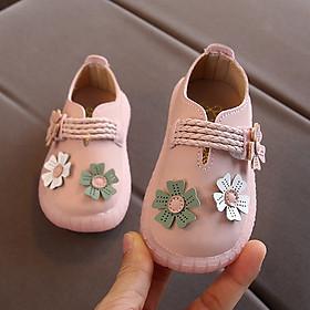 Giày tập đi cho bé gái 3 - 18 tháng phong cách Hàn Quốc TD32