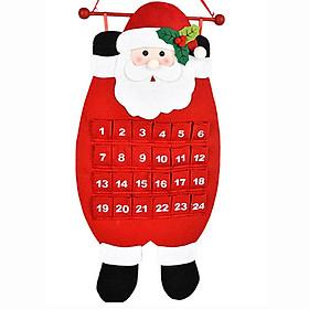 (Toponeto) Christmas Old Man Snow Man Deer Calendar Advent Countdown Calendar
