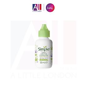 Kem dưỡng Simple Calming Moisturiser With Hemp Seed oil - 50ml