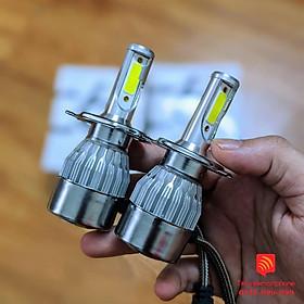 Đèn pha LED C6 H4 H7 H1 9005 9006 HB3 HB4 H8 H8 H11 cao cấp loại 1 Siêu Sáng (giá 1 bóng)