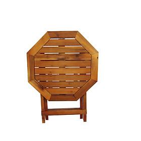 Bàn xếp gỗ lục giác cao 50CM