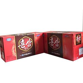 Combo 2 hộp nước uống vị hồng sâm Hàn Quốc 10 chai x 100ml