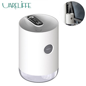 Uareliffe USB Charging Air Humidifier Desktop 1L Large Capacity Air Purifier Two Mode Adjustable Water Mist Diffuser Mist Maker With LED Night Light For Skin Care