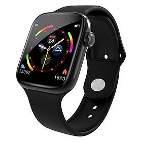 Đồng hồ thông minh cao cấp ANNCOE WATCH 5 Chống nước IP67 theo dõi sức khỏe đo huyết áp đo nhịp tim - Hàng Nhập Khẩu