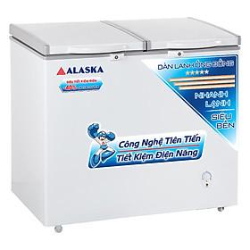 Tủ Đông Alaska BCD-3568C (350L) - Hàng Chính Hãng