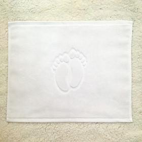 Thảm lau chân hình bàn chân ( 40x50cm ) ( Tặng 01 bộ gồm 03 hộp nhựa )