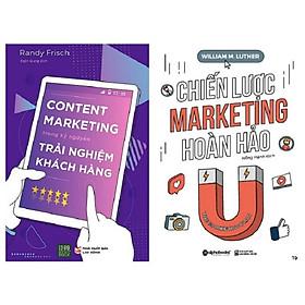 Combo 2 Cuốn: Chiến Lược Marketing Hoàn Hảo + Content Marketing Trong Kỷ Nguyên Trải Nghiệm Khách Hàng