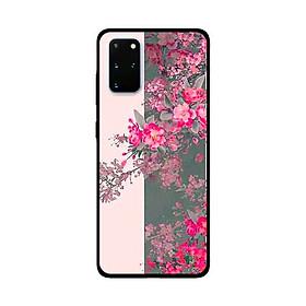 Ốp Lưng Dành Cho Samsung Galaxy S20 Plus mẫu Hoa Đào Nở Rộ - Hàng Chính Hãng