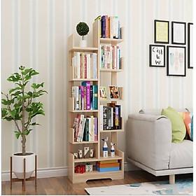 Giá sách gỗ, giá sách nhiều tầng